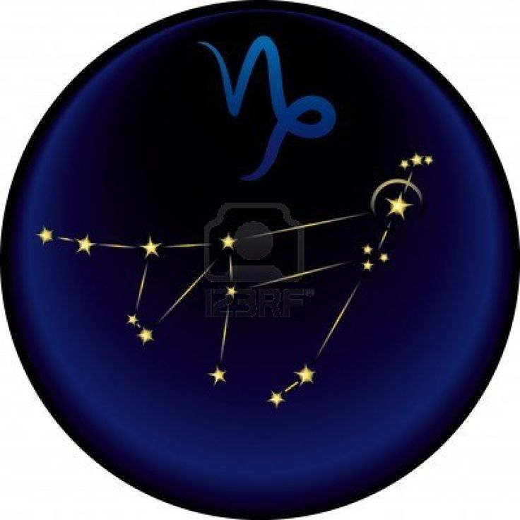 capricorn constellation - tattoo