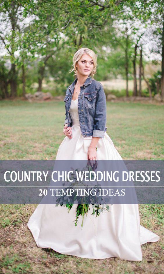 Trending country wedding style