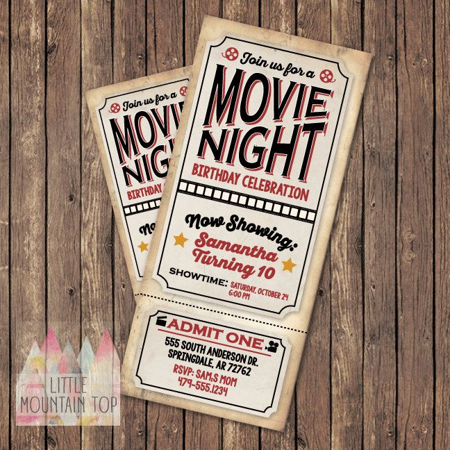 78 best Movie images on Pinterest Gourmet popcorn, Candy popcorn - movie theater ticket template