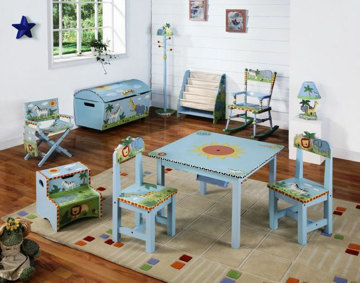 Guidecraft Safari Furniture Collection   Childrens Furniture For Bedroom,  Playroom And Nursery