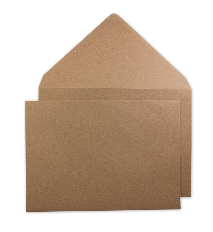 Im Shop: #Briefumschlag #C5, braun, glatt, #Kraftpapier nassklebend. --- #envelopes #C5 #kraftpaper