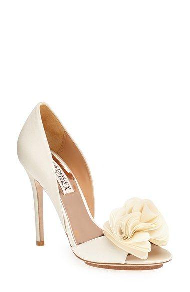 3 B adgley Mischka  Blossom  Open Toe d. Zapatos Para NoviaPara  NoviosBollosModa De MujerTaconesZapatos ... 28ea9087b157