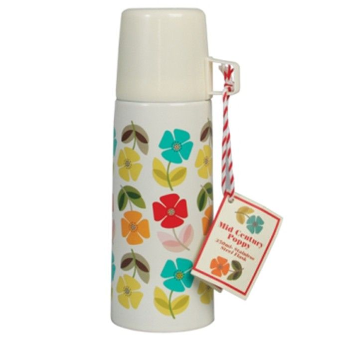 Thermosflasche Poppy Flower - Küche - Shabby-Style.de