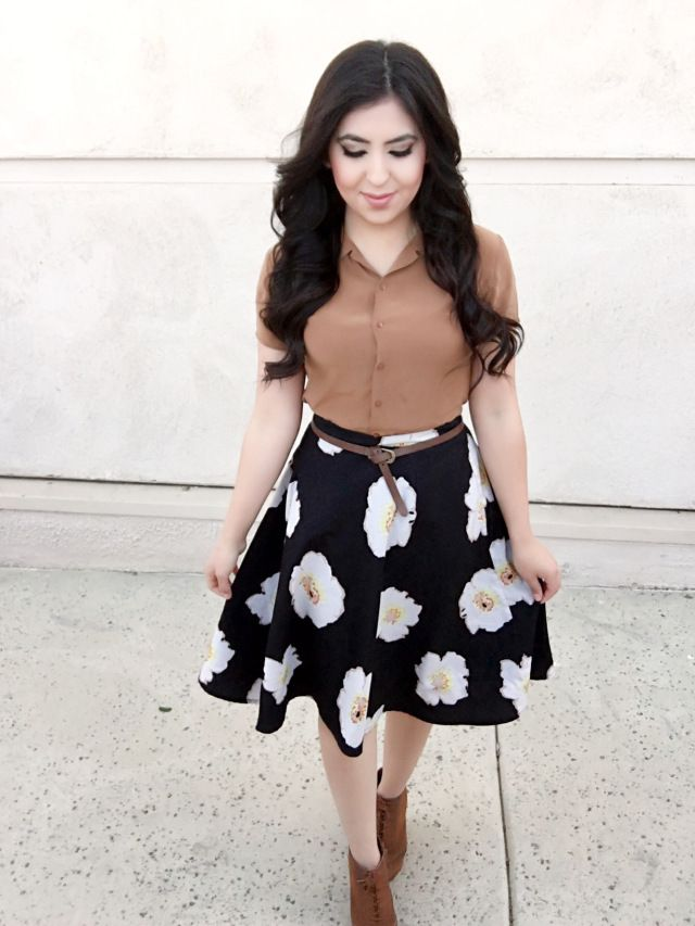 25+ Best Ideas About Circle Skirt Outfits On Pinterest | Black Skirts Birthday Dresses For ...