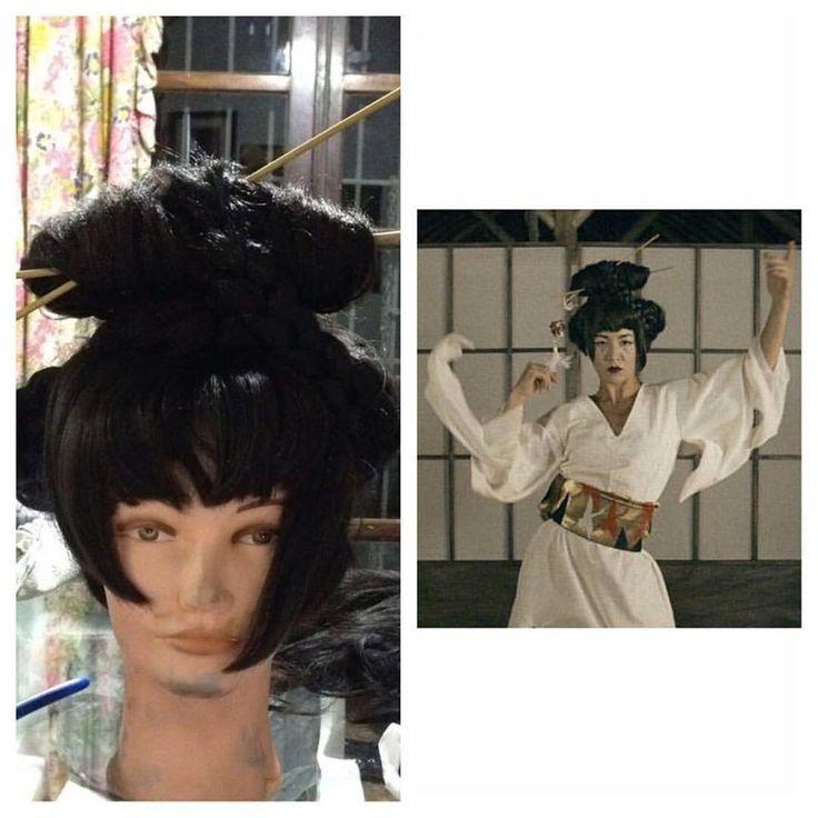 "wig for short film ""sangue dourado""of Gustavo Bo director!"