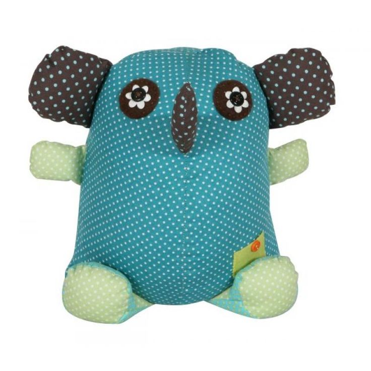 Elephant Door Stop Blue/Brown - Metro Kids for sale by Little Shop of Treasures. Other Metro Kids available now at LSOT.