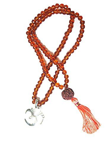 Healing Mala Brown Crystal 108 Prayer Hindu Prayer Meditation Rosary Om Pendant Mogul Interior http://www.amazon.com/dp/B00U5TCVYE/ref=cm_sw_r_pi_dp_L0c9ub1BSPPM4
