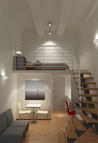 25 melhores ideias de mezanino no pinterest mezanino loft mezanino e loft pequeno - Studio mezzanine ...