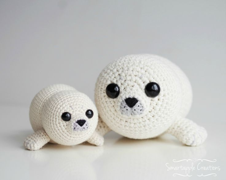 Amigurumi Seal Free Pattern : Bubbly the Baby Seal amigurumi pattern by Smartapple ...