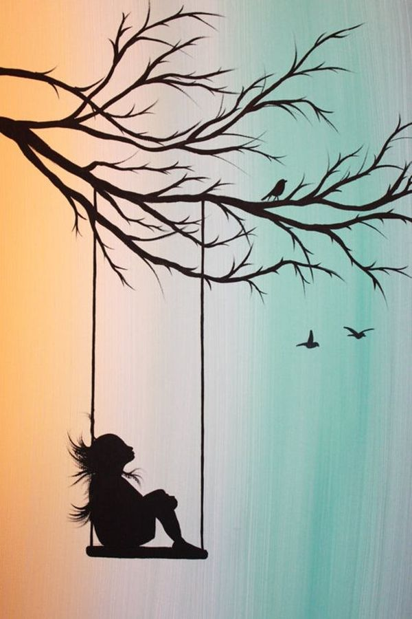 Ideas For Painting Endearing Get 20 Silhouette Art Ideas On Pinterest Without Signing Up Design Inspiration