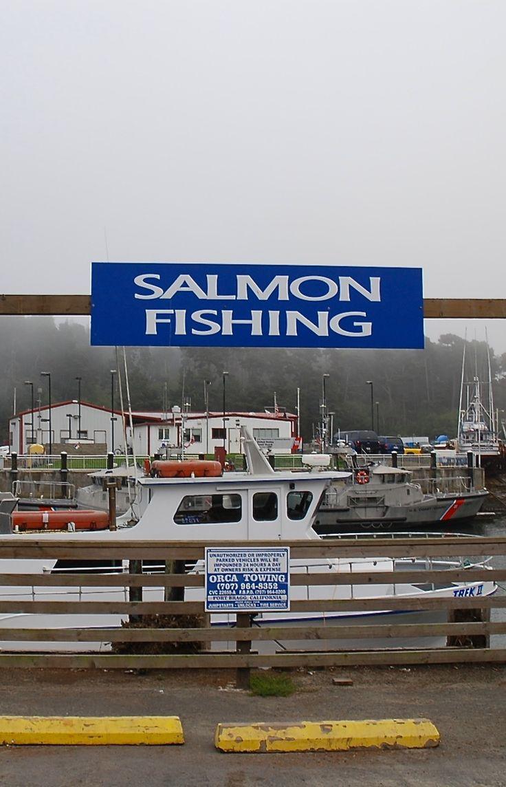 Salmon fishing noyo harbor fort bragg california for Fort bragg fishing charters