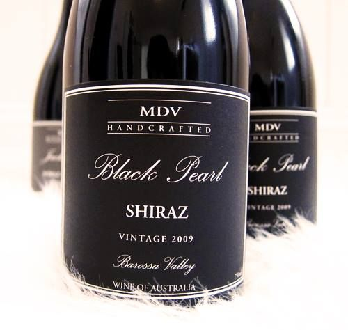 MDV 'Black Pearl' Barossa Shiraz 2009.