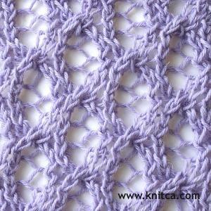 knitting stitch pattern – Lace