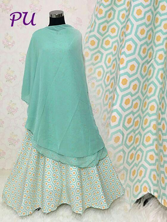 Baju Muslim Syar'i B139 Crepe Mix Ceruti Trendy - https://bajumuslimbaru.com/baju-muslim-syari-b139-crepe-mix-ceruti