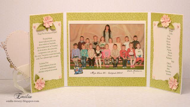 Na zakończenie roku szkolnego/Podziękowanie dla nauczyciela od dzieci/Kartka dla nauczyciela/Card for teacher
