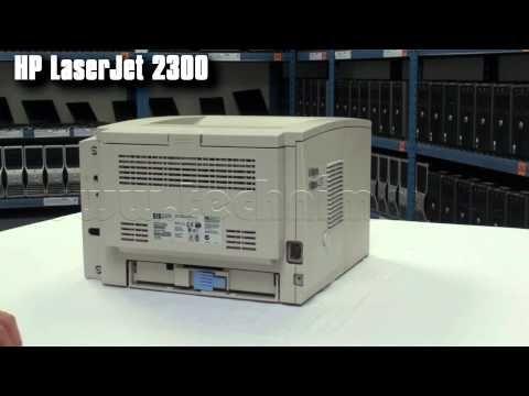 Tiskárna HP LaserJet 2300D s vestavěným duplexem, tonerem a kabelem