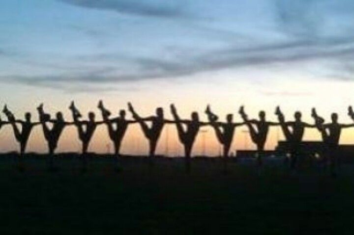 This is so cute. Drill team picture Can't believe this is on here that was such a great year!