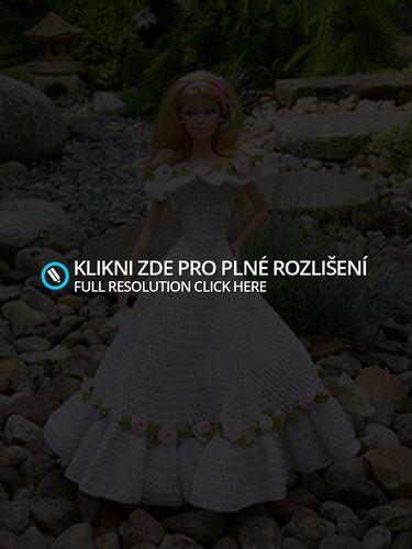 Ukázky krásného oblečení na Barbie a jiné panenky