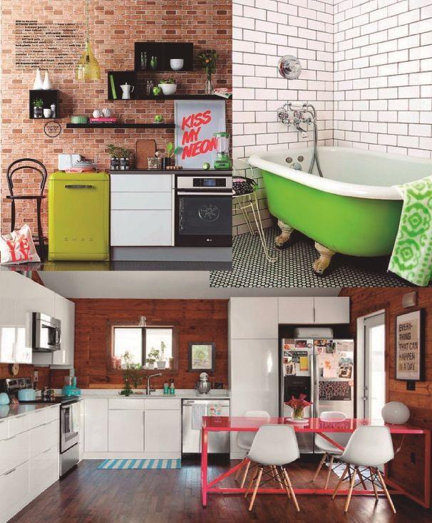 #excll #дизайнинтерьера #решения Неоновые цвета в интерьере | Excellence Group - решения