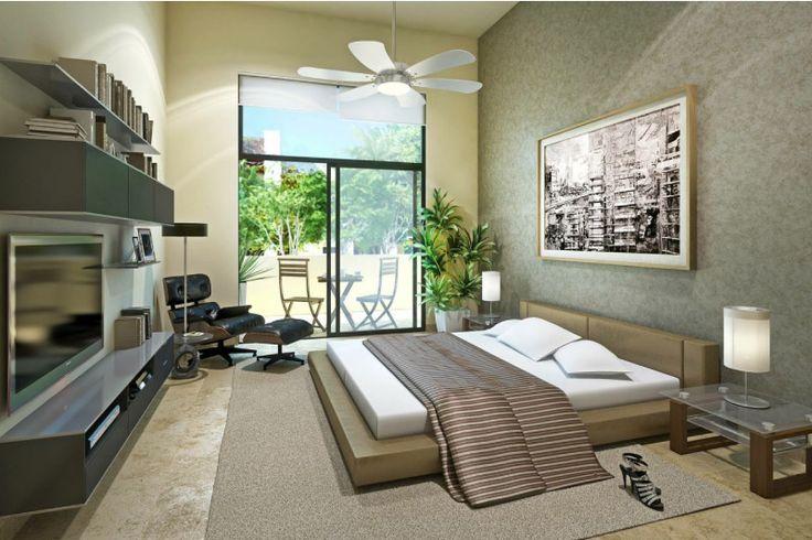 Dormitorios amplios y luminosos