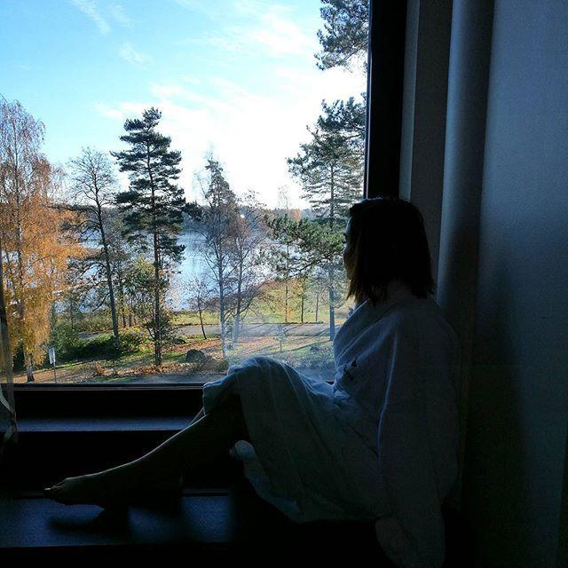 Relaxed 🤗 #langvikhotel http://www.langvik.fi