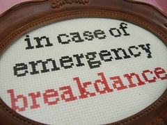 a gem from the fab Julie Jackson and Subversive Cross Stitch