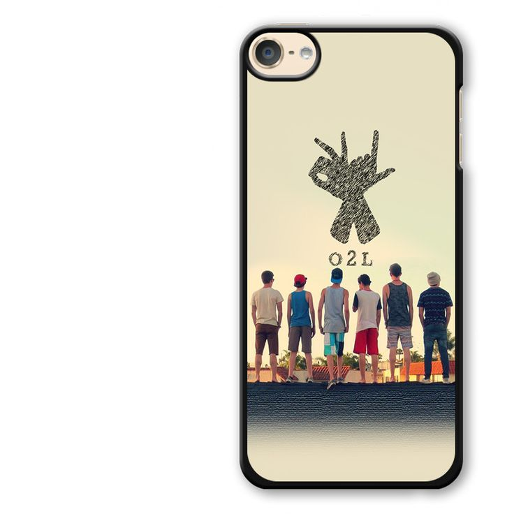 O2l Collage Hand Sign iPod Touch 6 Case