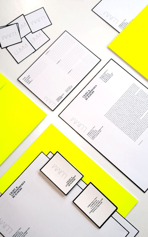 Lumm by Ariadna Vilalta | #Branding Identity and #Stationery Package - gold outline?