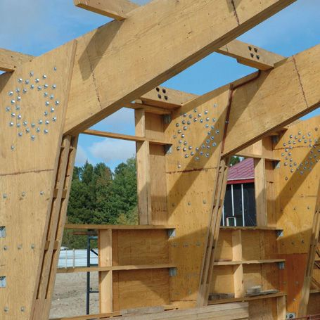 Laminated veneer lumber beam / rectangular Silverwood
