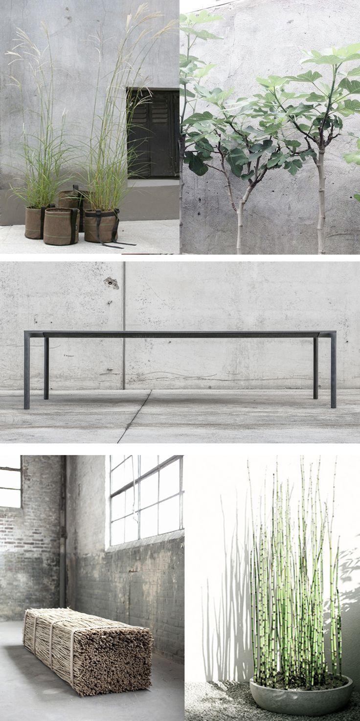Metal extension table modern-urban-garden-patio-ideas