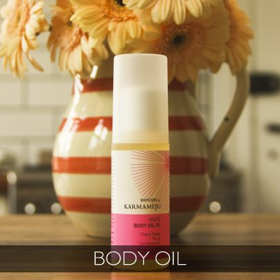 Karmameju - Hope Oil. Aromatherapeutic body oil perfect for brightening your day, massage oil or even bath oil!