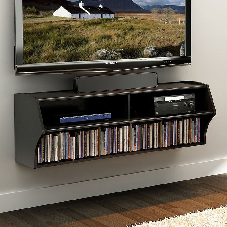 25 best ideas about wall mount entertainment center on pinterest wall mounted tv unit small. Black Bedroom Furniture Sets. Home Design Ideas