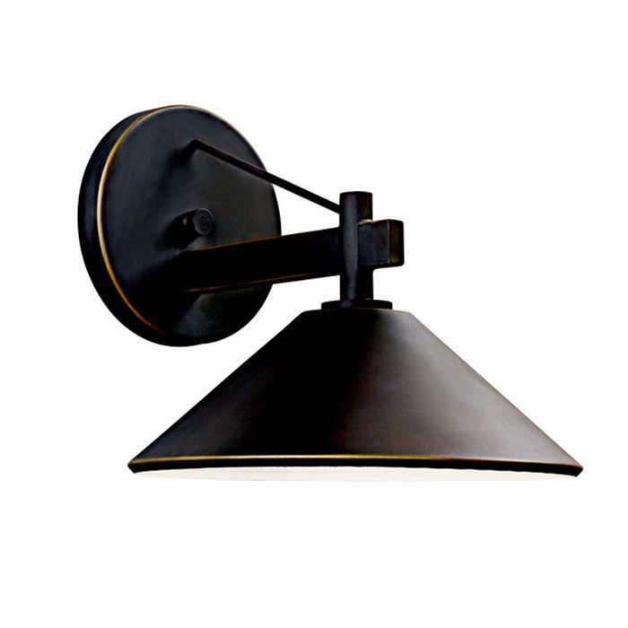 玄関 照明 門柱灯 門灯 外灯 屋外 ガーデンライト レトロ風照明 49059OZ KICHLER キチラー アンティーク風 ブラケット 照明器具 おしゃれ E26 白熱灯40W