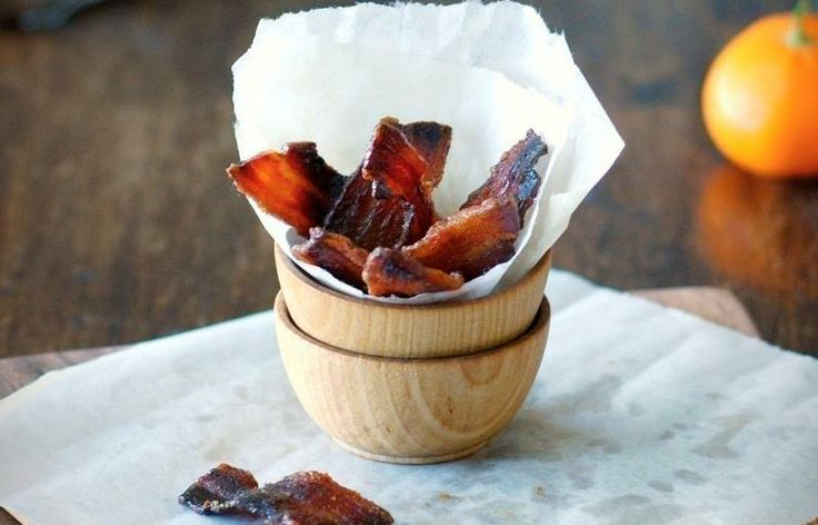 Caramelized Bacon Chips | Fabulous Foodies | Pinterest