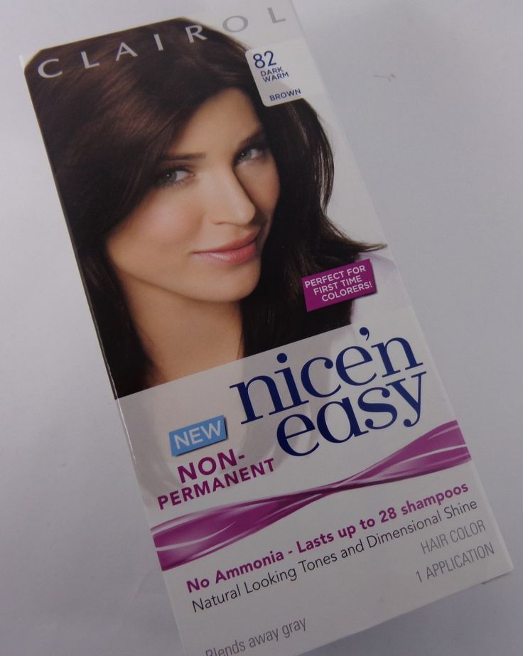 Nice 'n Easy Non-Permanent Hair Color Review with before and after photos