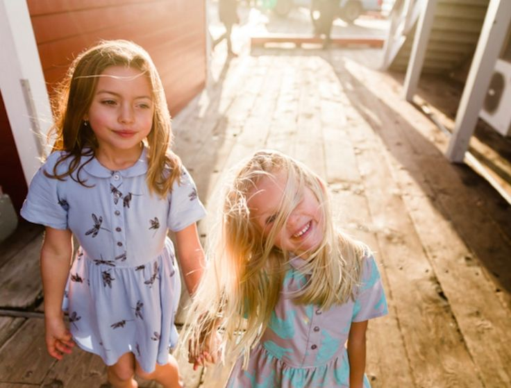 Beru ethical children's clothing is made in LA from surplus fabrics | Inhabitots