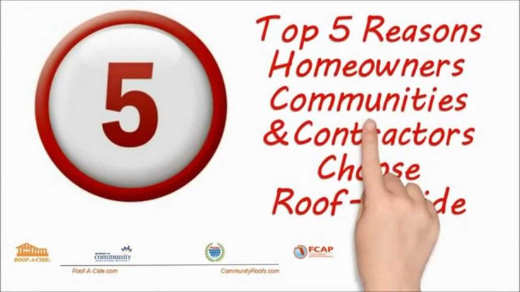 Top Five Reason Homeowners Communities And Contractors Choose