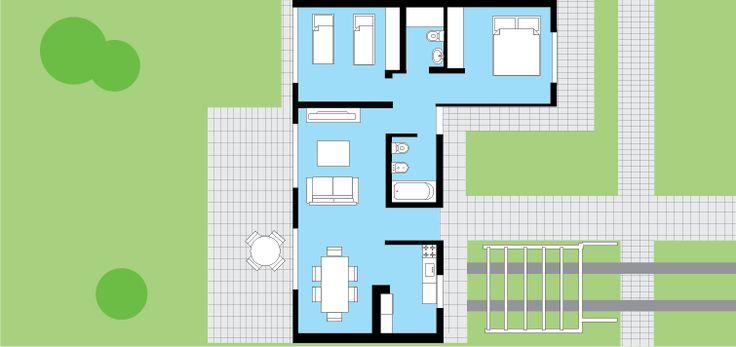 M s de 25 ideas incre bles sobre techo inclinado en for Casa clasica procrear terminada