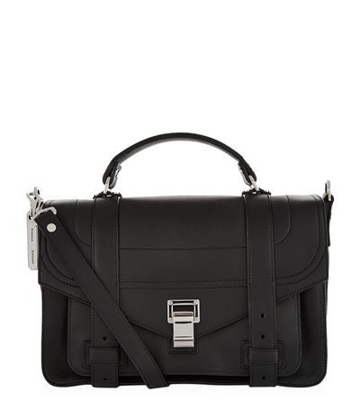 PROENZA SCHOULER Ps1 Medium Satchel. #proenzaschouler #bags #shoulder bags #hand bags #leather #satchel #