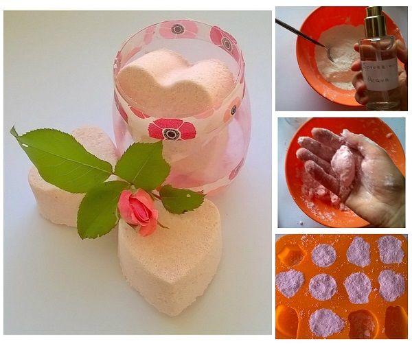17 migliori idee per il fai da te su pinterest oggetti - Bombe da bagno effervescenti ...