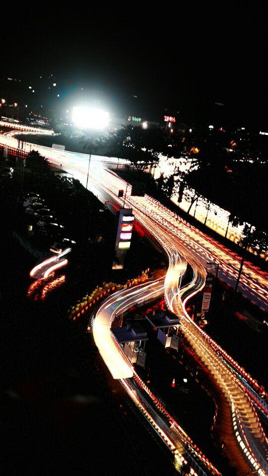 Light street from Living world,Alam Sutra-Serpong