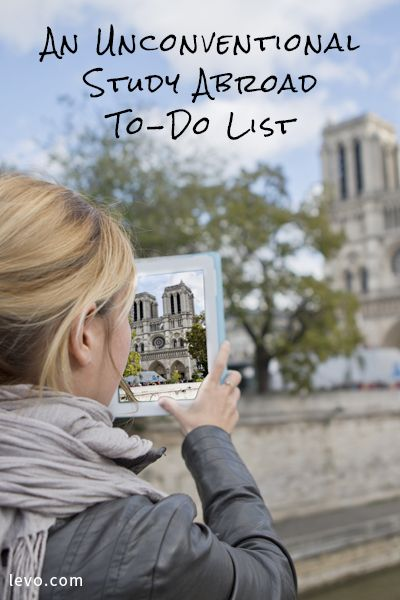 Are you getting ready to study abroad? Make sure you don't forget this!
