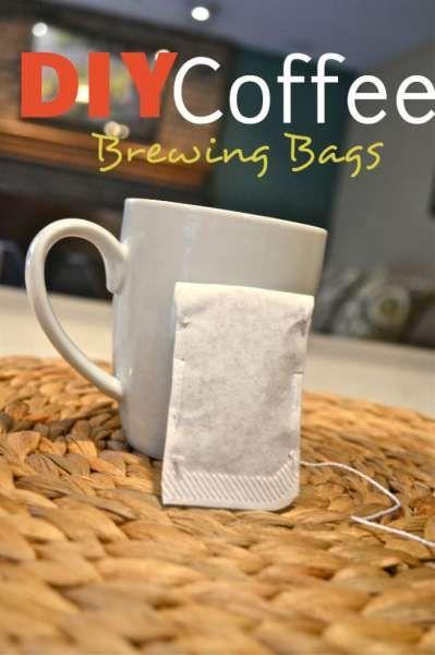 DIY Coffee Brewing Sachets