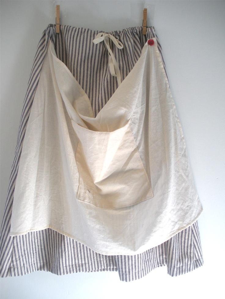 MOONDANCE Wear's utility skirt with apron  http://www.etsy.com/listing/83937300/utility-skirt-2