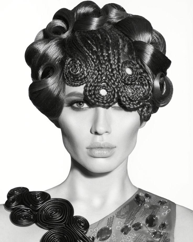 Hairdresser Karimova Anastasiya. StyleMasters 2016.