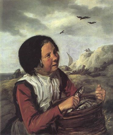 Frans Hals, Fischer girl, 1630-1632 c., private collection, oil on canvas, 80,6 x 66,7 cm