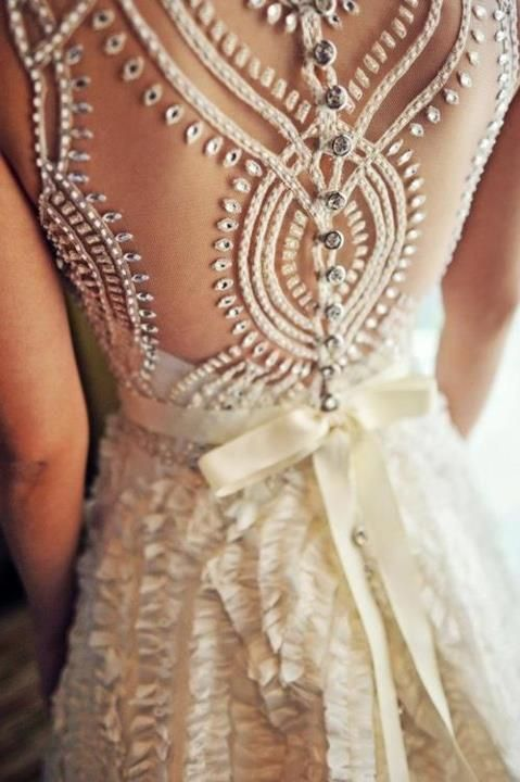 Beautiful studded gown: Wedding Dressses, Fashion, Style, Wedding Dresses, Wedding Ideas, Weddings, Beautiful, Dream Wedding
