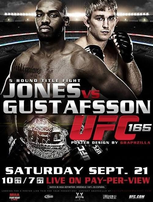 Ufc 168 Fight Poster 114 best images about ...