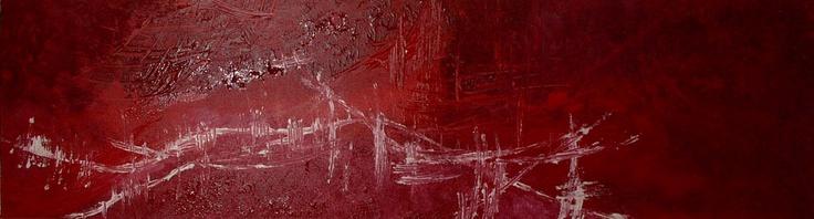 ROSEE D'ORIENT   Tableau unique format 116 x 81cm peint en 2007  Technique : Mélange de peinture acrylique et de peinture à l'huile avec utilisation de résine  La toile est montée sur châssis bois et protégée par un vernis afin de donner une très bonne longévité.