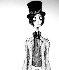 Tim Burton's Willy Wonka sketch. <3